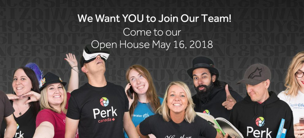 Perk.com Canada Wants YOU to Attend Their Open House